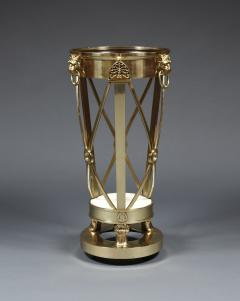 A Regency Gilt Brass Jardiniere Stand Closely Based on A Design By Thomas Hope - 354834