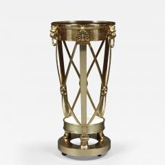 A Regency Gilt Brass Jardiniere Stand Closely Based on A Design By Thomas Hope - 355496