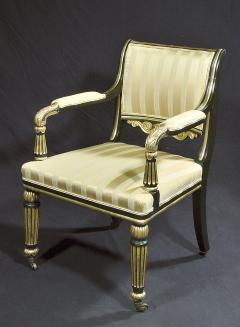 A Regency Library Open Armchair - 874557