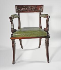A Regency Mahogany Armchair - 1074305