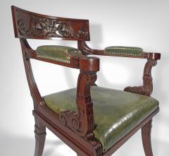 A Regency Mahogany Armchair - 1074308