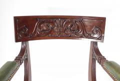 A Regency Mahogany Armchair - 1074310