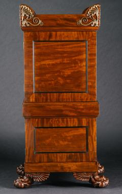 A Regency Mahogany Dining Room Pedestal Cabinet in the Manner of Thomas Hope - 407660