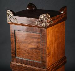 A Regency Mahogany Dining Room Pedestal Cabinet in the Manner of Thomas Hope - 407661