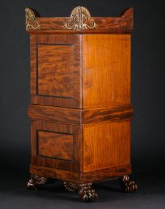 A Regency Mahogany Dining Room Pedestal Cabinet in the Manner of Thomas Hope - 407662