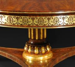 A Regency Rosewood Center Table - 874323