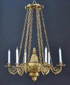 A Regency Six Light Chandelier - 826046