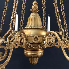 A Regency Six Light Chandelier - 826055