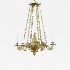 A Regency Six Light Chandelier - 828979