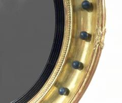 A Regency Style Giltwood Convex Mirror - 968467