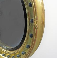 A Regency Style Giltwood Convex Mirror - 968468