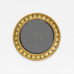 A Regency Style Giltwood Convex Mirror - 968559