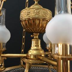 A Regency Three Light Suspended Argand - 990865