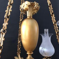 A Regency Three Light Suspended Argand - 1186487