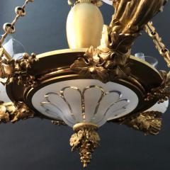 A Regency Three Light Suspended Argand - 1186495