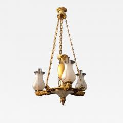 A Regency Three Light Suspended Argand - 1187103