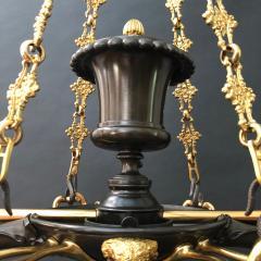 A Regency Two Light Suspended Argand - 1085339