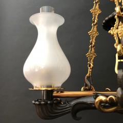 A Regency Two Light Suspended Argand - 1085340