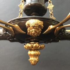A Regency Two Light Suspended Argand - 1085341