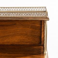 A Regency brass inlaid rosewood secretaire 1810 - 976905