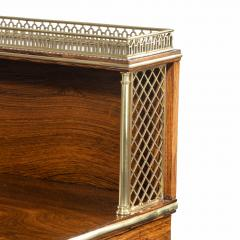 A Regency brass inlaid rosewood secretaire 1810 - 976923