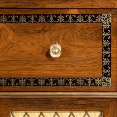 A Regency brass inlaid rosewood secretaire 1810 - 976931