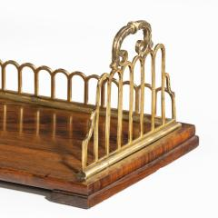 A Regency rosewood and gilt brass mounted book stand attributed to Gillows - 2023113
