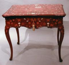 A Rococo Inlaid Italian Mechanical Writing Table - 117522
