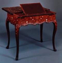 A Rococo Inlaid Italian Mechanical Writing Table - 117523