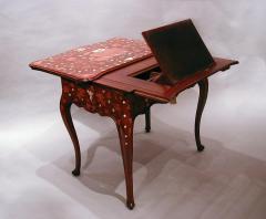 A Rococo Inlaid Italian Mechanical Writing Table - 117524