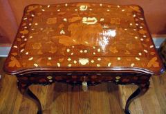 A Rococo Inlaid Italian Mechanical Writing Table - 117526