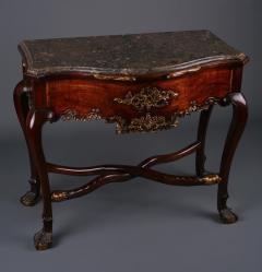 A Rococo Parcel Gilt Side Table Iberian ca 1770 - 44218
