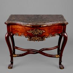 A Rococo Parcel Gilt Side Table Iberian Ca - Rococo side table