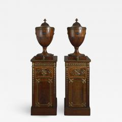 A SERIOUS PAIR OF CHIPPENDALE PERIOD DINING ROOM URNS ENGLISH CIRCA 1770 - 1817872