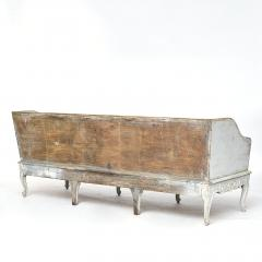A SWEDISH ROCOCO PAINTED SOFA BENCH APPROX 1770 - 1055201