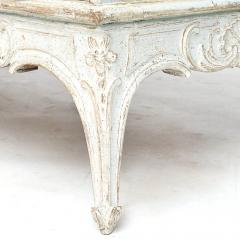 A SWEDISH ROCOCO PAINTED SOFA BENCH APPROX 1770 - 1055202