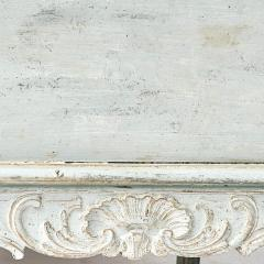 A SWEDISH ROCOCO PAINTED SOFA BENCH APPROX 1770 - 1055203