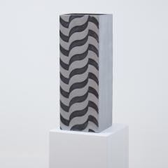 A Sculptural Modernist Tall Vase by Artist Lorenzo Burchiellaro - 1224699