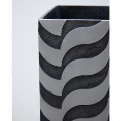A Sculptural Modernist Tall Vase by Artist Lorenzo Burchiellaro - 1224700