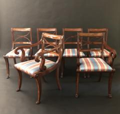 A Set Of Classical Dining Chairs - 1561873