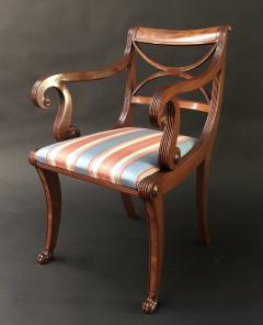 A Set Of Classical Dining Chairs - 1561874