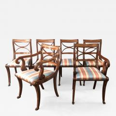 A Set Of Classical Dining Chairs - 1563182