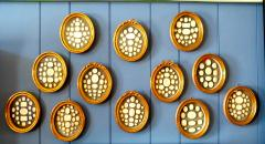 A Set of 12 Framed Cameos Intaglios  - 111734