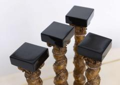 A Set of 4 Italian Baroque Solomonic Column Models Mid 18th Century - 348489