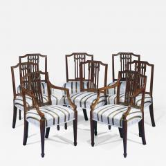 A Set of Eight George III Dining Chairs - 1314008
