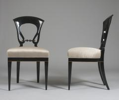 A Set of Four Exceptional Biedermeier Side Chairs - 454016