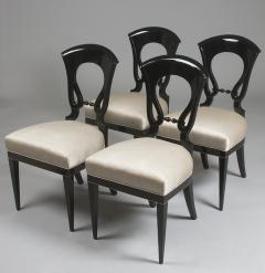 A Set of Four Exceptional Biedermeier Side Chairs - 454017