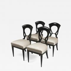 A Set of Four Exceptional Biedermeier Side Chairs - 455306