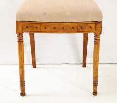 A Set of Six Danish Empire Inlaid Birchwood Sidechairs Circa 1810 1820 - 1279189