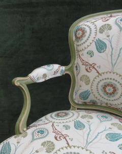 A Set of Six George III Painted Armchairs - 1073547
